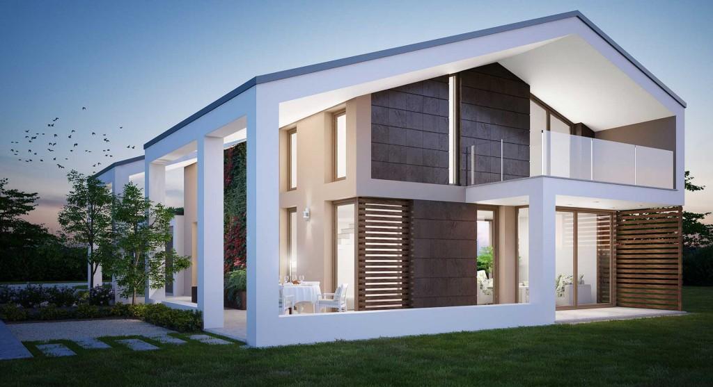 La rampa noceto pr p p costruzioni for Moderni disegni di case a due piani