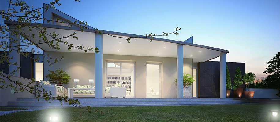 La rampa noceto pr p p costruzioni for Progetti di case moderne a un solo piano