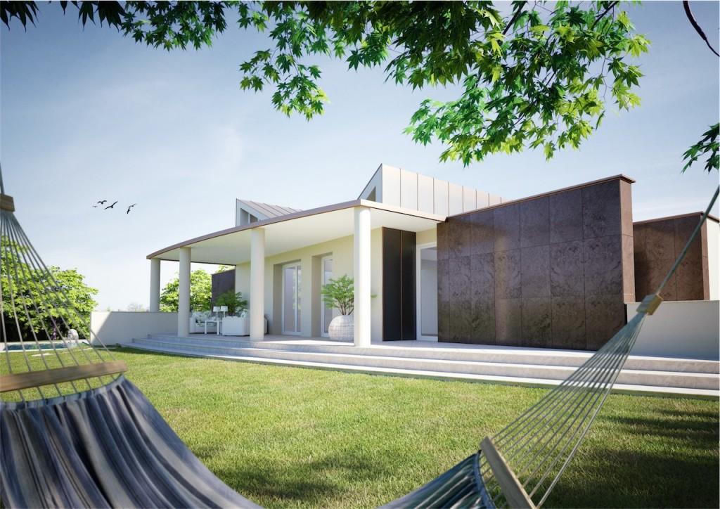 La rampa noceto pr p p costruzioni for Villa singola moderna